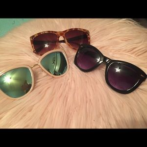 3 pairs of really cute used sunnies